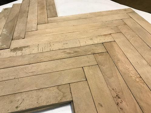 R9 4045 Reclaimed Beech Wood Parquet Flooring