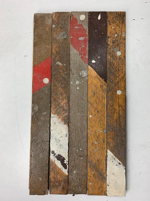 RC4545. Reclaimed Striped Gym Oak Wood Parquet Flooring *Limited Edition* II