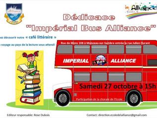 Ouverture et Dédicace de l'Impérial Bus Alliance à l'Ecole de l'Alliance
