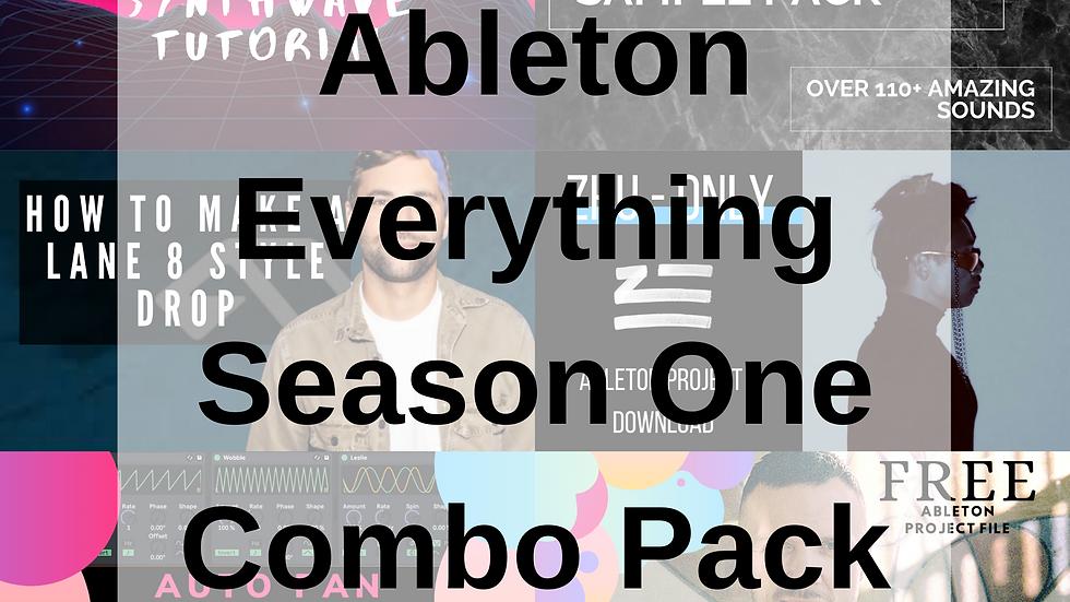 Season One Discount Pack