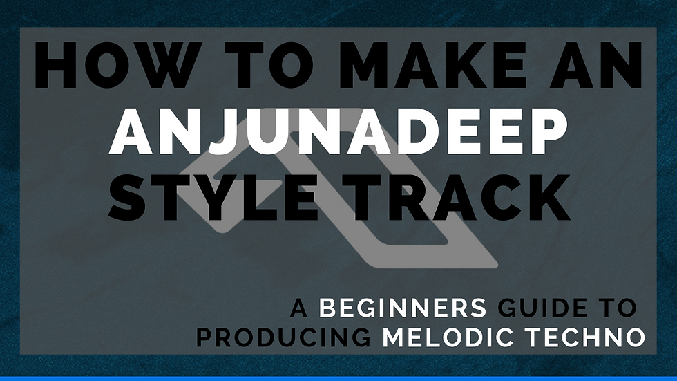 Full Anjunadeep Style Track