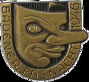 1946 Fasnachtsplakette Baden
