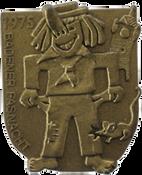 1975 Fasnachtsplakette Baden 1