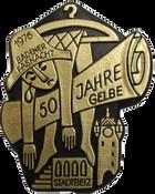1976 Fasnachtsplakette Baden 2