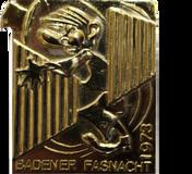 1973 Fasnachtsplakette Baden 2