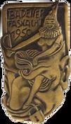 1950 Fasnachtsplakette Baden