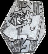 1974 Fasnachtsplakette Baden 2
