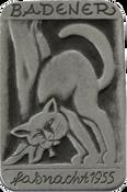1955 Fasnachtsplakette Baden