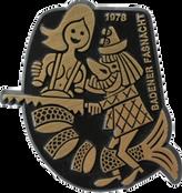 1978 Fasnachtsplakette Baden 2