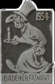 1954 Fasnachtsplakette Baden