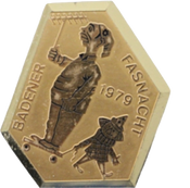 1979 Fasnachtsplakette Baden 1