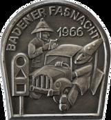 1966 Fasnachtsplakette Baden