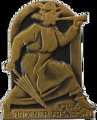 1947 Fasnachtsplakette Baden
