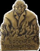 1949 Fasnachtsplakette Baden 1