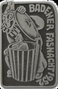 1952 Fasnachtsplakette Baden
