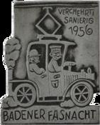 1956 Fasnachtsplakette Baden