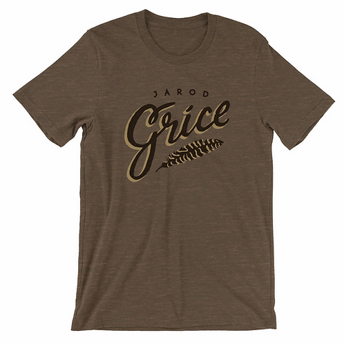 Jarod Grice Men's T - Brown