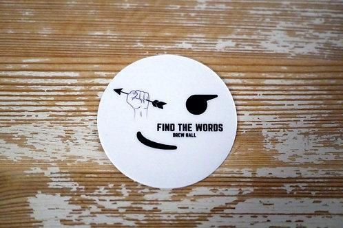 Sticker - Find the Words