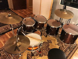 New Studio Drum Kit