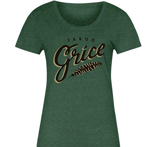 Jarod Grice Women's T - Green