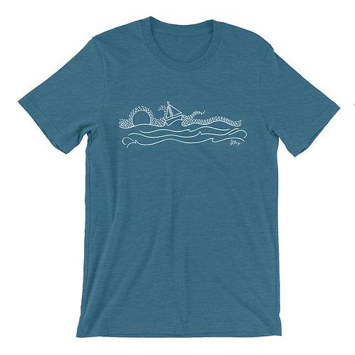 Boat/Waves T - Mens
