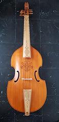 Bass viol by John Pringle