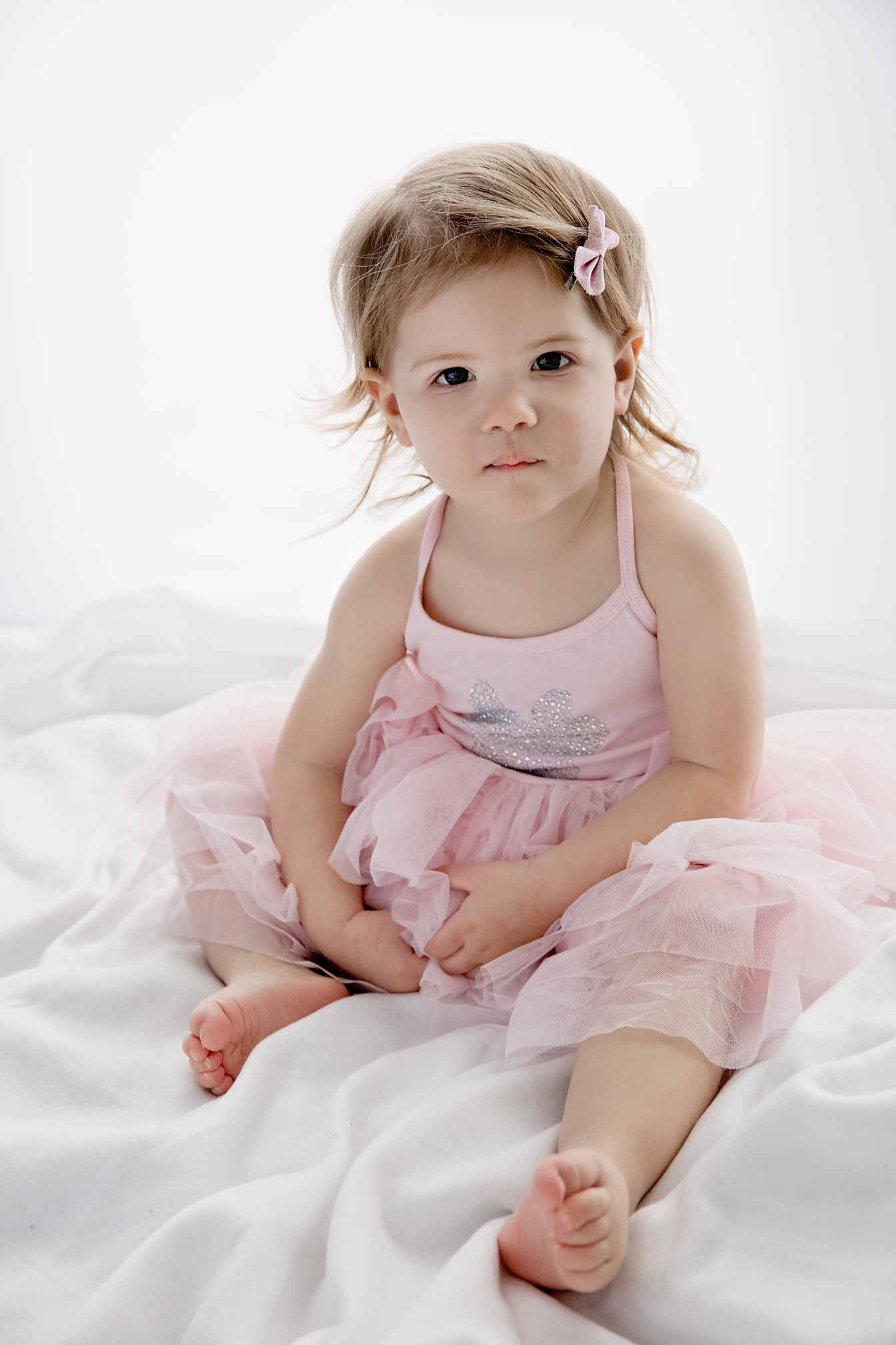 Ballerina dancer toddler girl photo