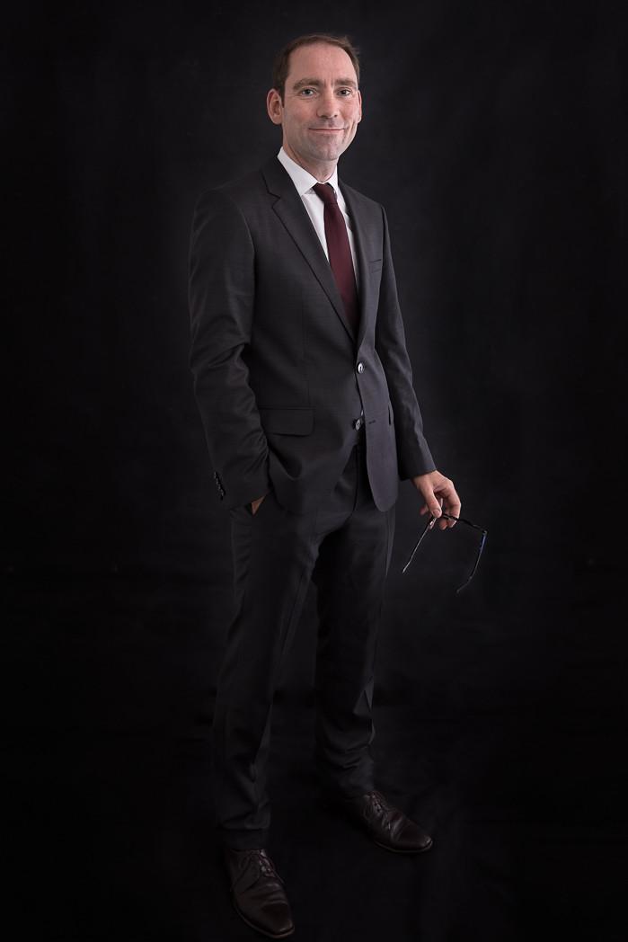 Professional portrait for branding Geneva
