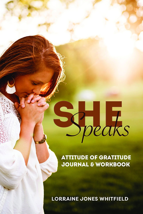 SHE SPEAKS Journal & Workbook