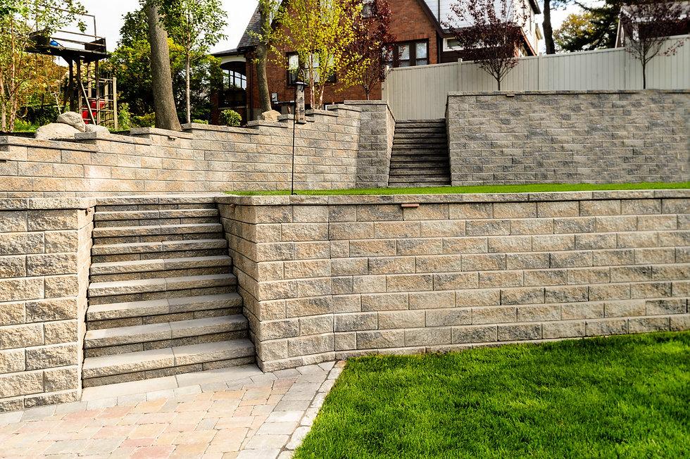Indresano Corporation landscaping design, construction, maintenance – Distinguished Newton Terrace outdoor living area