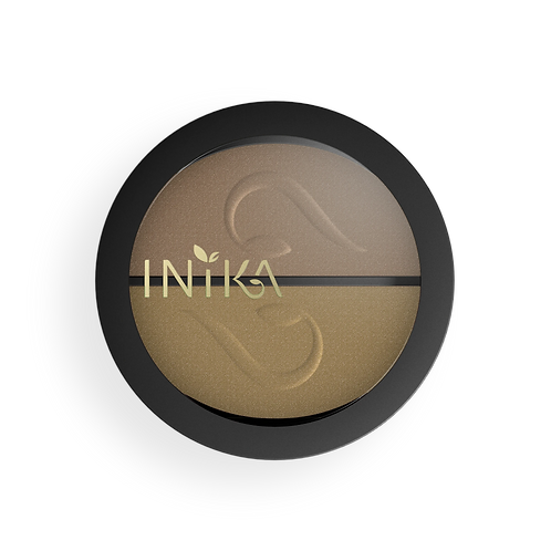Inika Pressed Mineral Eye Shadow Duo
