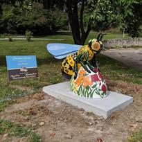 Honeybees in the Heartland sculpture