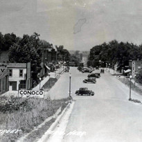 Downtown looking north 1930's