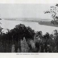 The old Missouri River near Peru