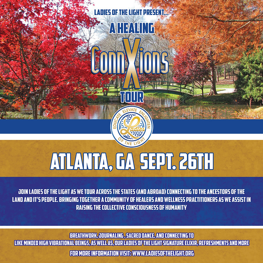 2021 Healing ConnXions Atlanta, GA Tour