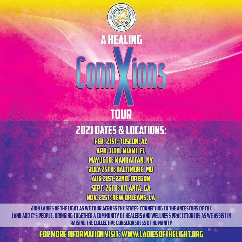 2021 Healing ConnXions Tour