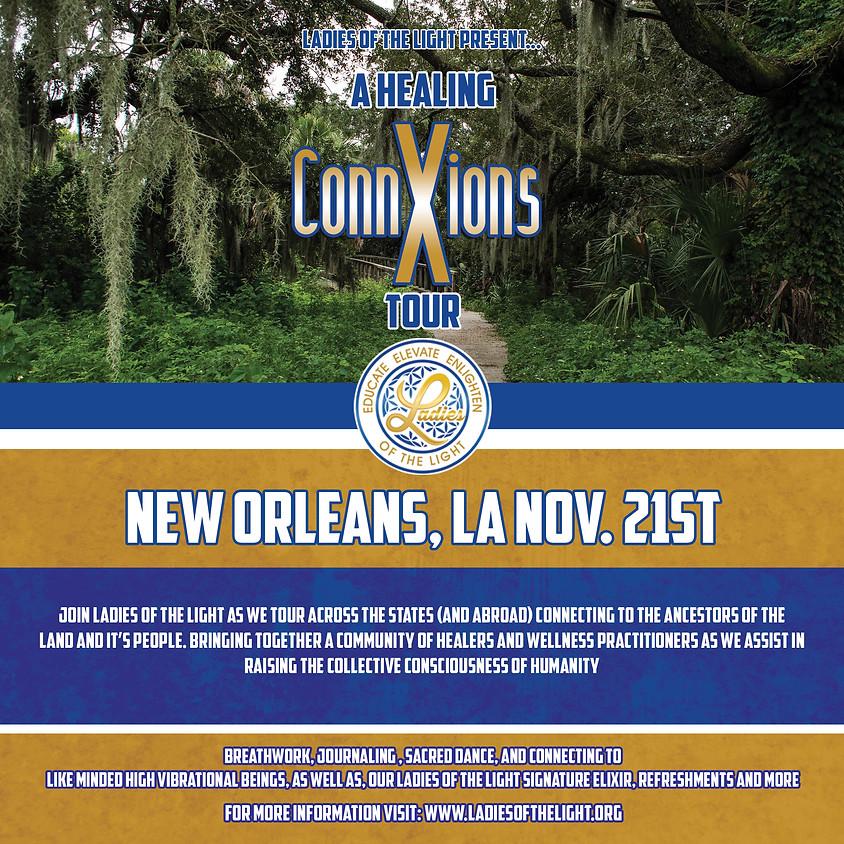 2021 Healing ConnXions New Orleans, LA Tour