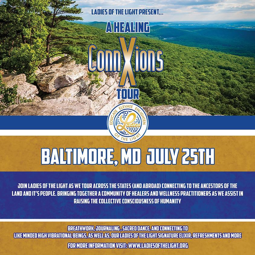 2021 Healing ConnXions Baltimore, MD Tour