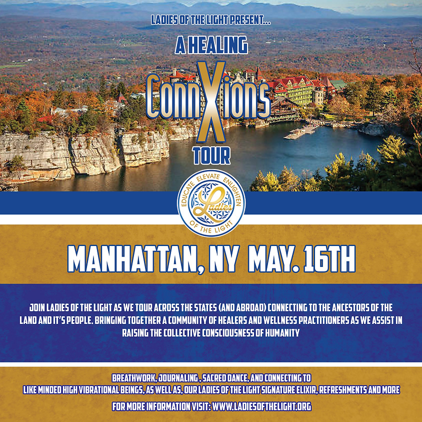 2021 Healing ConnXions Manhattan, NY Tour