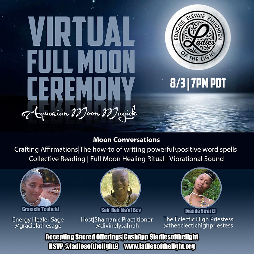 Virtual Fool Moon Ceremony