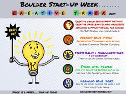 Boulder Start Up Week 2019