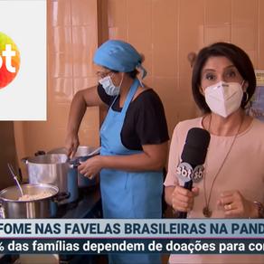8 em cada 10 famílias se alimentam de doações na pandemia, diz Data Favela