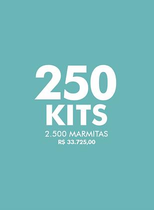 250 KITS FAÇA O BEM - Live Experience Club