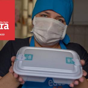 Marmita vira o ganha pão de quem luta para superar a crise do coronavírus