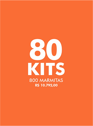 80 KITS FAÇA O BEM - Live Experience Club