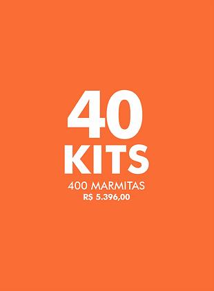 40 KITS FAÇA O BEM - Live Experience Club
