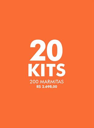 20 KITS FAÇA O BEM - Live Experience Club
