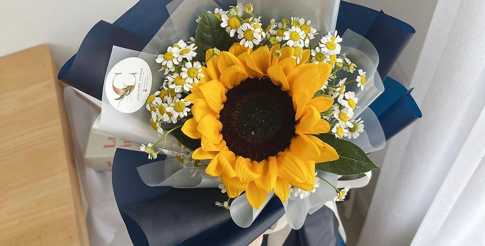 Mini Sunflower with Daisies
