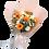 Thumbnail: Orange Gerbera Mix with White Tone Flowers