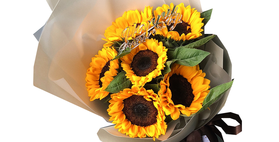 6 Sunflowers